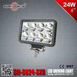 6 Inch 24W Rectangle LED Driving Light (SM-6024-SXB)