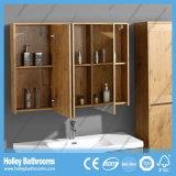 حديثة [هيغ-ند] بلوط حمام خزانة وحدة تصميم جديدة أسلوب غرفة حمّام شريكات يثبت ([بف116م])