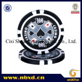 11.5g Poker Chip met Custom Stickers (sy-D17F)