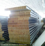 Изолированный пожаробезопасный сандвич панели шерстей утеса Bao стальной для стены