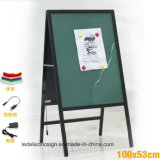 Menu Board com Writing Board com mesa de projeto para Advertizing Display