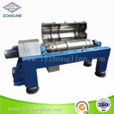 Separatore continuo automatico del decantatore di scarico per il trattamento delle acque