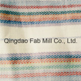 Hermosa y de moda tela de lino rayado (QF16-2502)