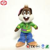Jouet du lapin En71 de conception de peluche animale de cadeau de Pâques nouveau