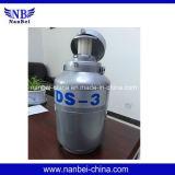 el tanque estéril biológico vendedor caliente del nitrógeno líquido del almacenaje 10L