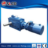 B3-8 Right Angle Shaft Schwer-Aufgabe Helical Bevel Gear Motor für Wood Pellet Machine