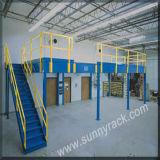 Entresuelo resistente y plataforma del suelo de acero de la calidad de China