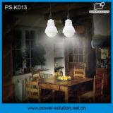 système solaire d'ampoules du panneau solaire 3PCS 1W DEL de 4W 11V de maison solaire solaire de nécessaire