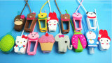 29 Ml Portable 3D Animal Design Silicone Hand Sanitizer Bouteille Holder