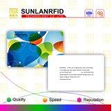 tarjeta de viruta elegante plástica de 13.56MHz RFID para el control de acceso