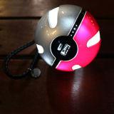 Портативный крен силы Pokeball с электрофонарем СИД