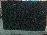 Красивейшая зеленая плитка гранита галактики, гранит G687