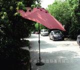 parapluie en acier d'ombre de Sun de yard de 9FT de plage de manivelle de patio extérieur de jardin