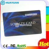 Изготовленный на заказ визитная карточка верноподданности членства PVC печатание логоса