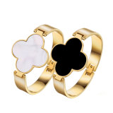 Four-Leaf Clover Bracelet Stainless Steel Bracelet Fashion JewelryかJewellery