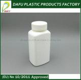 bottiglia di pillola di plastica di rettangolo dell'HDPE 250ml