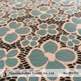 Оптовая продажа ткани шнурка цветка жаккарда тканья (M1395)