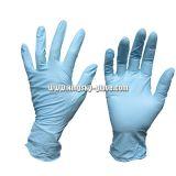 Устранимая напудренная перчатка рассмотрения нитрила--5911