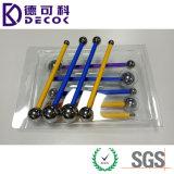 DIYのケーキのツールの金属球のベーキングフォンダンのケーキは砂糖の花のためのステンレス鋼8のヘッドペンに用具を使う