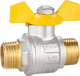 Brass Ball Valve with Aluminum Handle BV-1330 M/M