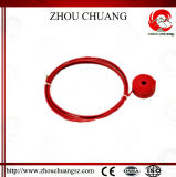 Sicherheit Inssurence Rad-Typ Kabel-Aussperrung mit ABS Material
