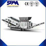Precio móvil de la trituradora de la grava de la alta capacidad