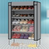 方法5 Tier Metal Frame Waterproof Cloth Shoe Cabinet (靴の記憶のためのWS16-0040、)