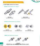 Unterschiedlicher medizinischer Gas-Standardadapter für Bedhead Gerät und Strömungsmesser