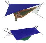 Ripstopナイロン雨はえの防水シートの防水日曜日の小型テントを運ぶ