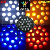 indicatore luminoso ambrato di cerimonia nuziale della lavata dello zoom di PARITÀ di 18X18W RGBW LED