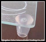 scheda Tempered libera di taglio del vetro di 4mm con i piedi di plastica