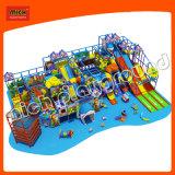 Enfants douce intérieure Équipement de terrain de jeu avec le plan d'affaires