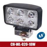 """indicatore luminoso del lavoro di 4.4 """" 18W LED per l'automobile/automobili/autoveicoli (CH-WL-020-18W)"""