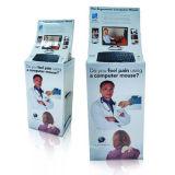 Étalage favorable à l'environnement de carton avec la tête de lit