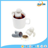 Cute Mr Teapot Silicone Tea Infuser Filter Teapot para chá
