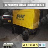 125kVA Diesel van de aanhangwagen Mobiele Generator met Water Gekoelde Motor Sdg138wst