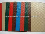 Цвет покрыл лист выбитый штукатуркой алюминиевый для толя украшения (1050 1060 1100 3003 3105)
