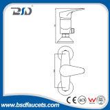 Robinets d'eau en laiton à faible teneur en plomb modernes à levier unique de douche
