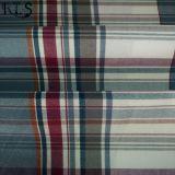 Il filato tessuto 100% della flanella di cotone ha tinto il tessuto per le camice/vestito Rls21-5FL