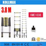 telescopische Ladder van het Aluminium van 3.8m de Binnenlandse Vouwende Draagbare voor SGS en131-6