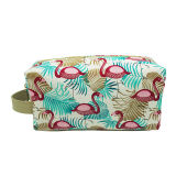 Frauen Multi-Function Travel Cosmetic Bag mit Animal Pattern