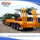 Jiangsu Soem 40 Fuß 30 Tonnen-hydraulischer Aufhebung-Flachbett-halb Schlussteil
