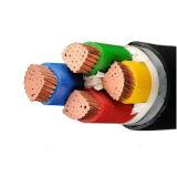 Câble en aluminium de PVC de câble d'alimentation de conducteur