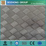 Plat antidérapage en aluminium des prix concurrentiels 5052 de bonne qualité
