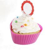 De nieuwe Vorm van de Cake van het Silicone van de Vorm van het Hart van het Ontwerp DIY Mini Food-Grade