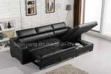 Mobilia di piccola dimensione L sofà di meditazione del cuoio di figura