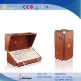 Caja de regalo de cuero de gama alta (5909)