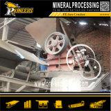 石の石造りのマンガンの機械を押しつぶすミネラル顎粉砕機のマンガンの鉱石