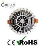 Alumínio claro aprovado do diodo emissor de luz Downlight do teto 30W da ESPIGA do CREE de RoHS do Ce para baixo