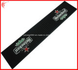Promotion (YH-BM028)のためのBarゴム製Brand Drinking Mat Black Basic